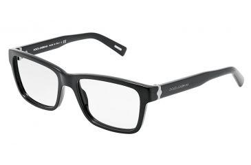 Dolce&Gabbana SICILIAN HINGE DG3130 Eyeglass Frames 501-5517 - Black Frame