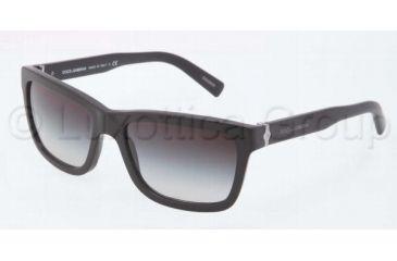 c36cd40dce27 Dolce Gabbana SICILIAN HINGE DG4161 Sunglasses 19348G-5718 - Matte Black  Frame