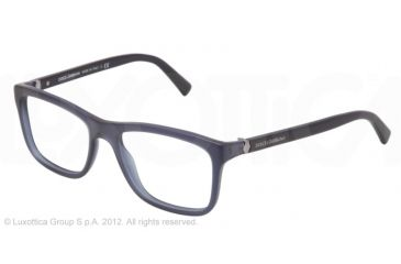 Dolce&Gabbana SMALL SICILIAN HINGE DG3164 Bifocal Prescription Eyeglasses 1850-52 - Matte Blue Frame