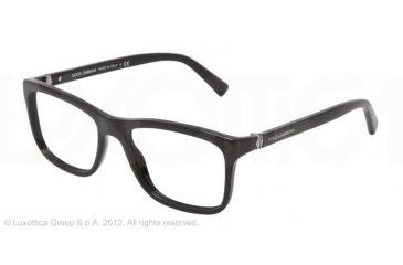 Dolce&Gabbana SMALL SICILIAN HINGE DG3164 Bifocal Prescription Eyeglasses 501-52 - Black Frame
