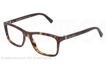 Dolce&Gabbana SMALL SICILIAN HINGE DG3164 Bifocal Prescription Eyeglasses 502-52 - Havana Frame