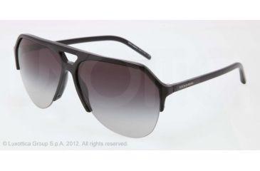 Dolce&Gabbana STEFANO - FASHION SHOW SS13 DG4178 Progressive Prescription Sunglasses DG4178-501-8G-62 - Lens Diameter 62 mm, Lens Diameter 62 mm, Frame Color Black
