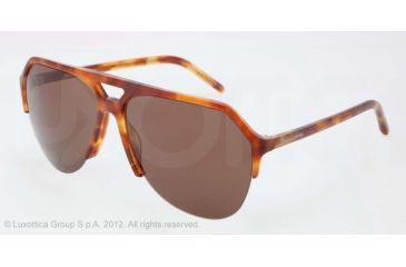 Dolce&Gabbana STEFANO - FASHION SHOW SS13 DG4178 Progressive Prescription Sunglasses DG4178-706-73-62 - Lens Diameter 62 mm, Lens Diameter 62 mm, Frame Color Red Havana
