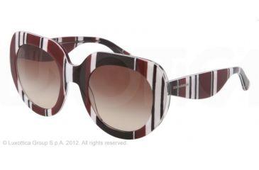 747a874cf9e4 Dolce Gabbana STRIPES SPECIAL PROJECT DG4191P Sunglasses 272113-50 -  Stripes Brown black white