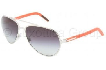 ccebe5377b10 Dolce Gabbana Sunglasses DG2081 485 8G-6015 - Silver Gray Gradient