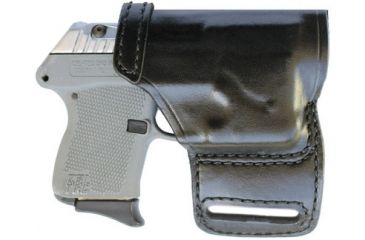 Don Hume Kel-Tec P32/P3AT OWB Leather Holster Right Hand w/ ArmaLaser OWBP3AT