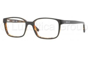 DKNY DY4608 Progressive Prescription Eyeglasses 3428-5017 - Black/Havana