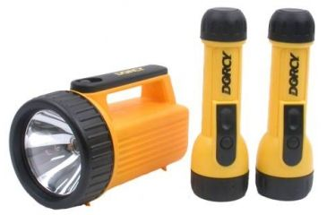 Dorcy 2- 2D / 6V Work Light Combo W/h.d.batteries 41-3352