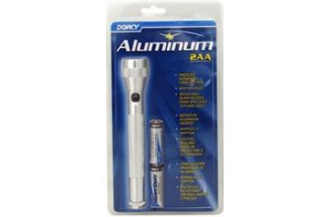 Dorcy 2AA Aluminum Flashlight w/ Batteries, Case of 6