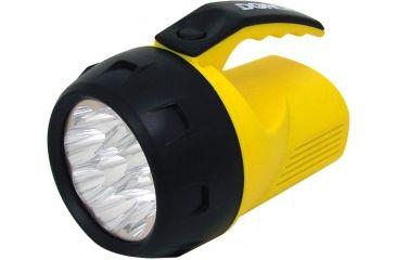 Dorcy 4 AA Mini 9 LED 27 Lumens Lantern w/ Batteries, Yellow/Black 41-1047