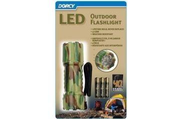 Dorcy 5mm 3AAA 9 LED Camouflage Flashlight 41-4248
