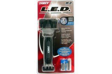 Dorcy 6 Watt- 2 CR123 K2 LED Flashlight w/ Batteries 41-4295