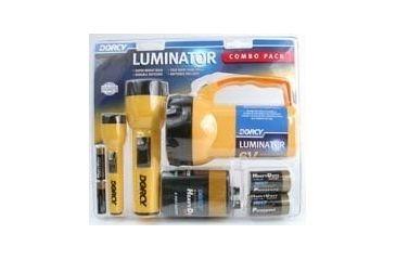 Dorcy 6V / 2D / 2AA Luminator Combo w/ Batteries 41-2865