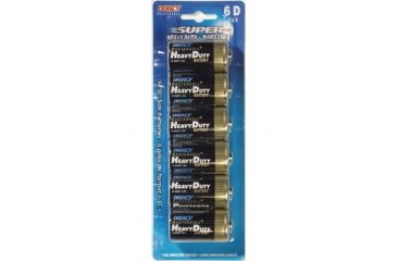 Dorcy D Mastercell Heavy Duty Batteries - 6 Per Card 41-1550