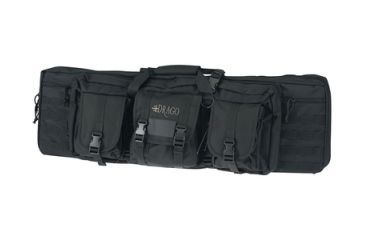Drago Gear Double Gun Case 36x14x12.5 Inches Black