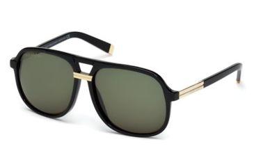DSquared DQ0071 Sunglasses - Shiny Black Frame Color