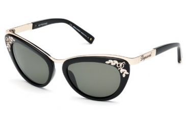 DSquared DQ0096 Sunglasses - Shiny Black Frame Color