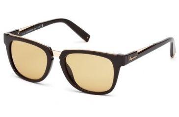 DSquared DQ0106 Sunglasses - Blonde Havana Frame Color