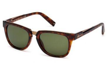 DSquared DQ0106 Sunglasses - Dark Havana Frame Color