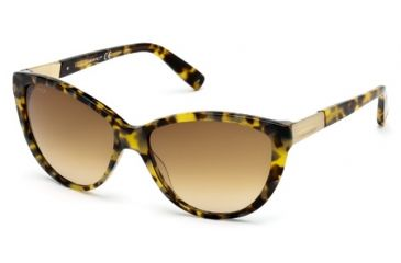 DSquared DQ0112 Sunglasses - Dark Havana Frame Color