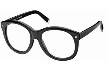 Eyeglass Frame Size 58 : DSquared DQ5047 Eyeglass Frames . DSquared Eyeglass Frames.