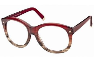 Eyeglass Frame Size 58 : DSquared DQ5047 Eyeglass Frames