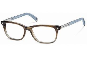 DSquared DQ5052 Eyeglass Frames - Light Brown Frame Color