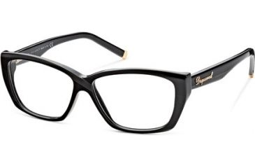 DSquared DQ5063 Bifocal Prescription Eyeglasses - Frame 001, Size 54 DQ506354001