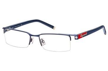DSquared DQ5069 Eyeglass Frames - Matte Gun Metal Frame Color