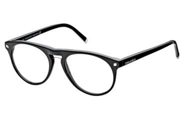 DSquared DQ5074 Eyeglass Frames - Shiny Black Frame Color