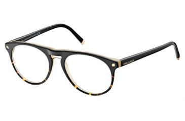 DSquared DQ5074 Eyeglass Frames - Black Frame Color