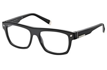 DSquared DQ5076 Eyeglass Frames - Shiny Black Frame Color