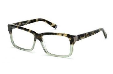 DSquared DQ5083 Eyeglass Frames - Havana Frame Color
