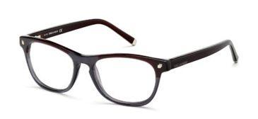 DSquared DQ5084 Eyeglass Frames - Bordeaux Frame Color