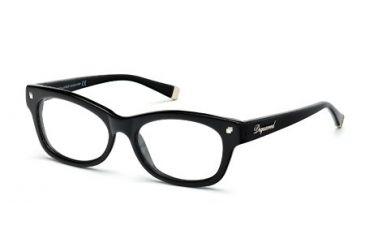DSquared DQ5085 Eyeglass Frames - Shiny Black Frame Color