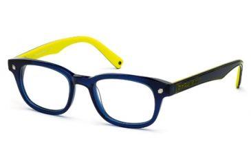 DSquared DQ5098 Eyeglass Frames - Shiny Blue Frame Color