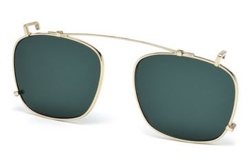 DSquared DQ5148-CL Sunglasses - Shiny Rose Gold Frame Color, Green Lens Color