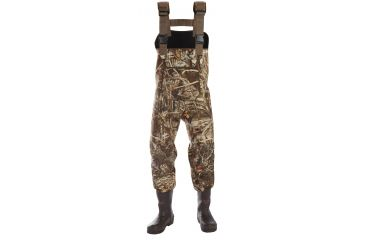 Duck Commander 4mm Neoprene Chest Waders, 600 Gram Size 12, Advantage Max4 65112