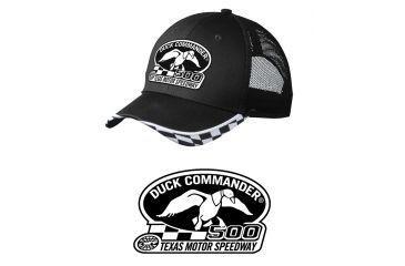 Duck Commander DHDC50001 Logo Hat Mesh Black One Size Cotton/Poly 10Pk