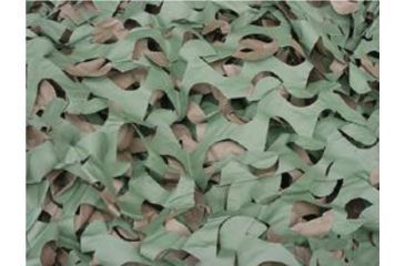 Duck Commander M4 Camo Blind Material 7 Feet 8 Inches X 10 Feet Expanded, Green/Brown 55790