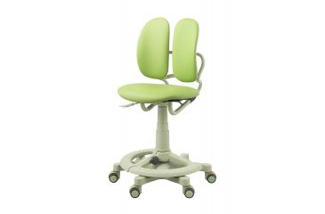 DuoRest Kids Desk Chair - Leather - Melon Green DR-218A