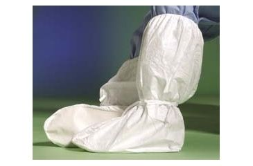 DuPont Tyvek Boot Covers IC446SWHMD00 Not Clean Processed With Ankle Ties