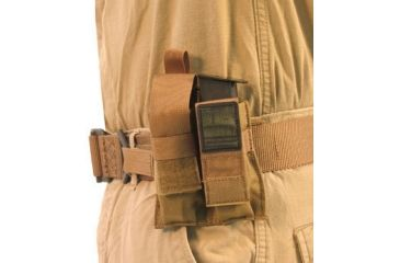 BlackHawk Duty Double Pistol Mag Pouch- Coyote Tan 52PMK2DE