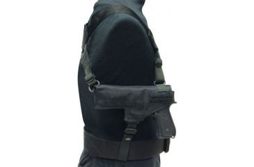 Eagle Industries Horizontal Pull Holster with Mag Pouch