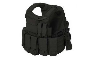 Eagle Black Tactical Vest CIRAS-L-BK