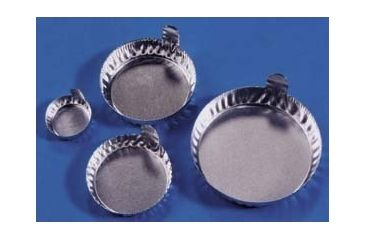 Eagle Thermoplastic Disposable Aluminum Crinkle Dishes with Tabs D57-100