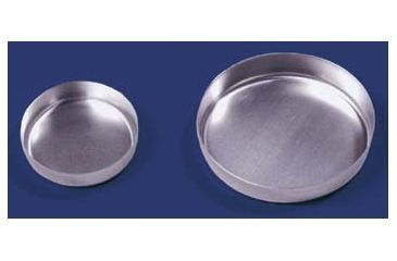 Eagle Thermoplastic Disposable Aluminum Smooth-Wall Weighing Dishes D140S-100