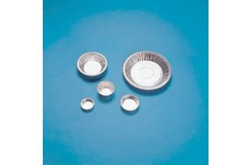 Eagle Thermoplastic Disposable Aluminum Weighing Dishes D75-100