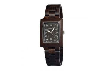 Earth Sego02 Cork Watch, Dark Brown ETHSEGO02