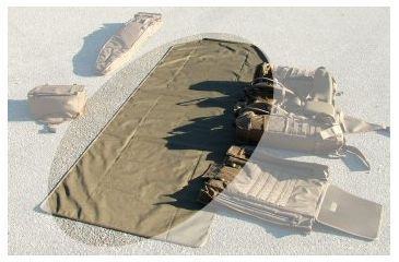 Eberlestock A1smmc Magic Carpet Shooting Mat Non Padded Coyote Brown